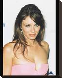 Elizabeth Hurley Stretched Canvas Print