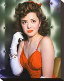 Ann Rutherford Stretched Canvas Print