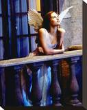 Claire Danes - Romeo + Juliet Stretched Canvas Print