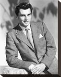 Edmund Purdom Stretched Canvas Print