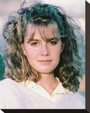 Elisabeth Shue - The Karate Kid Stretched Canvas Print