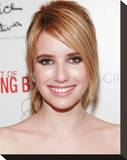 Emma Roberts Stretched Canvas Print