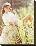 Dawn Wells - Gilligan's Island Stretched Canvas Print