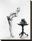 Joi Lansing Stretched Canvas Print