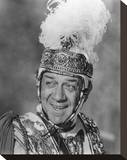 Sid James - Carry on Cleo Stretched Canvas Print