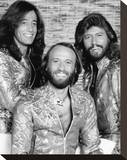 The Bee Gees Stretched Canvas Print