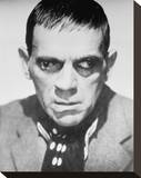 Boris Karloff Stretched Canvas Print