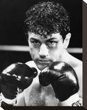Robert De Niro - Raging Bull Stretched Canvas Print
