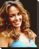 Catherine Bach Stretched Canvas Print