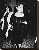 Carrie Fisher Stretched Canvas Print