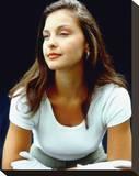 Ashley Judd Stretched Canvas Print