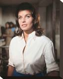 Senta Berger Stretched Canvas Print