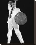 Alec Guinness - The Man in the White Suit Stretched Canvas Print