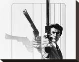 Clint Eastwood - Magnum Force Stretched Canvas Print