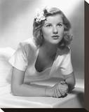Barbara Bel Geddes Stretched Canvas Print