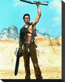 Bruce Campbell - Army of Darkness Stretched Canvas Print