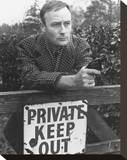 Edward Woodward - Callan Stretched Canvas Print