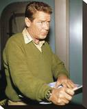 Richard Basehart - Voyage to the Bottom of the Sea Stretched Canvas Print
