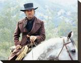 Clint Eastwood - Pale Rider Stretched Canvas Print