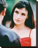 Famke Janssen Stretched Canvas Print