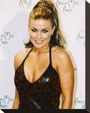 Carmen Electra Stretched Canvas Print