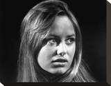 Susan George - Fright Stretched Canvas Print