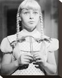 Patty McCormack - The Bad Seed Stretched Canvas Print