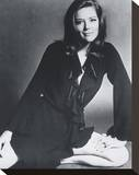 Diana Rigg Stretched Canvas Print