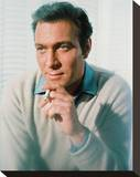 Christopher Plummer Stretched Canvas Print