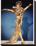 Carmen Miranda Stretched Canvas Print