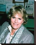 Sharon Gless Stretched Canvas Print