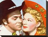 Howard Keel Stretched Canvas Print