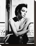 Beatrice Dalle Stretched Canvas Print