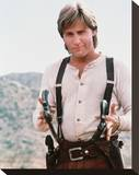 Emilio Estevez - Young Guns II Stretched Canvas Print