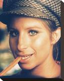 Barbra Streisand - What's Up, Doc Stretched Canvas Print