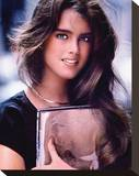 Brooke Shields Stretched Canvas Print