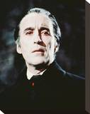 Christopher Lee - Dracula Has Risen from the Grave Stretched Canvas Print