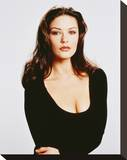 Catherine Zeta-Jones - Entrapment Stretched Canvas Print