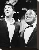 Louis Armstrong - The Dean Martin Show Stretched Canvas Print
