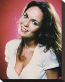 Catherine Bach - The Dukes of Hazzard Stretched Canvas Print