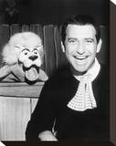 Soupy Sales Stretched Canvas Print