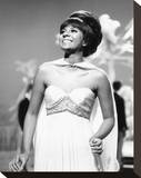 Leslie Uggams Stretched Canvas Print