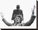 Christopher Lee - The Wicker Man Stretched Canvas Print