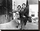 Invasion of the Body Snatchers Stretched Canvas Print