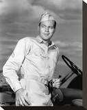 John Agar - Joe Butterfly Stretched Canvas Print