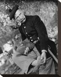 Andy Clyde Stretched Canvas Print