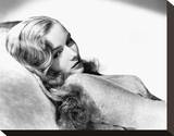 Veronica Lake Stretched Canvas Print