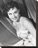 Eunice Gayson Stretched Canvas Print