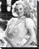 Penelope Ann Miller Stretched Canvas Print