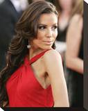 Eva Longoria Parker Stretched Canvas Print